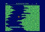 Salmon Run Atari 8-bit Avoided the waterfall