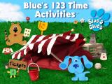 Blue's 123 Time title screen