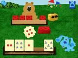 Blue's 123 Time Activities Windows A game of cards with Baby Bear, matching quantity and/or shape
