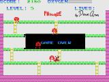 Panique MSX Game over