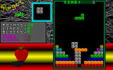 S-Tetris DOS Zone 3 Screen