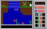 Captain Comic II: Fractured Reality DOS Swimming under water is the only way to reach some of the other areas
