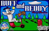 Ruff and Reddy in the Space Adventure Atari ST Loading screen