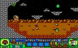 Ruff and Reddy in the Space Adventure Atari ST Game start