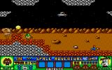 Ruff and Reddy in the Space Adventure Atari ST Along from the first screen - the yellow blob is a bonus item