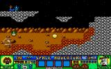 Ruff and Reddy in the Space Adventure Atari ST The higher ledges come into play here