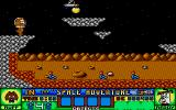 Ruff and Reddy in the Space Adventure Atari ST Space worms
