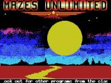 "Mazes Unlimited MSX Another Eaglesoft ""Classic"""
