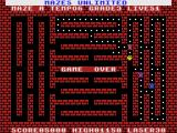 Mazes Unlimited MSX Killed by the monsters