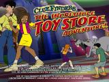 ClueFinders: The Incredible Toy Store Adventure Windows Title screen