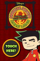 Disney's American Dragon: Jake Long - Attack of the Dark Dragon Nintendo DS Title screen