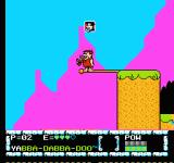 The Flintstones: The Surprise at Dinosaur Peak! NES Barney can stand on a rope for an instant and jump to reach the extra life.