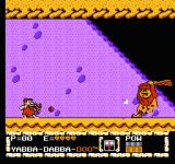 The Flintstones: The Surprise at Dinosaur Peak! NES The second boss - Barney's attacks from a distance work well...
