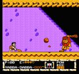 The Flintstones: The Surprise at Dinosaur Peak! NES ...but Fred shooting the rocks back to this caveman is more funny.