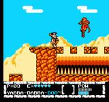 The Flintstones: The Surprise at Dinosaur Peak! NES Guess that's one of the monkeys Mr Slate was talking about.