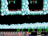 Holiday Lemmings DOS Holiday '94 - Level 2