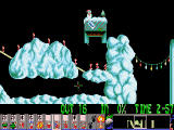 Holiday Lemmings DOS Holiday '94 - Level 3