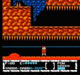 The Flintstones: The Surprise at Dinosaur Peak! NES Weird things coming after Barney.