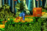 Crash Bandicoot: The Huge Adventure Game Boy Advance ...and that's what happens if you're not careful when near it