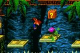 Crash Bandicoot: The Huge Adventure Game Boy Advance This plant doesn't seem friendly - a good spinning attack once Crash reaches the platform will be perfect