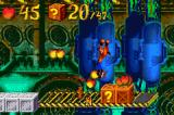 Crash Bandicoot: The Huge Adventure Game Boy Advance In bonus stages you can usually find extra lives and many fruits