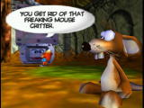Conker's Bad Fur Day Nintendo 64 Maurice the Mouse