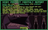 X-COM: UFO Defense DOS Your performance is evaluated every month