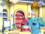 Blue's Room: Blue Talks! Windows Blue's room, showing Doodleboard, Boogie Woogie, and Polka Dots behind her