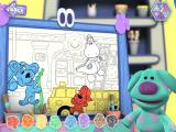 Blue's Room: Blue Talks! Windows Polka Dots and Doodleboard's I Spot game