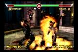 Mortal Kombat: Deadly Alliance PlayStation 2 Scorpion summons the fires of hell.
