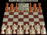 Grandmaster Chess (CD-ROM Edition) DOS Menu access. Lots of options