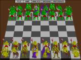 "Grandmaster Chess (CD-ROM Edition) DOS ""Monster"" piece set"