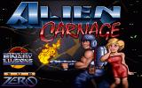Alien Carnage DOS Title Screen
