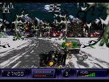 Batman Returns SEGA CD You can bash cars into buildings or trees on the side of the road for easy kills.