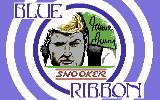 Steve Davis Snooker Commodore 64 Title screen