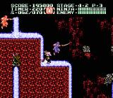 Ninja Gaiden II: The Dark Sword of Chaos NES Level 4-2 has a lot of underground water, which pushes you around.