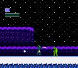 Dragon Fighter NES Starting out in the snow level