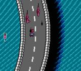 Super Spy Hunter NES Curvy freeway