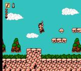 Whomp 'Em NES Starting in the tutorial stage, performing an upward stab