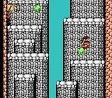 Whomp 'Em NES Climbing the cliffs in the tutorial stage