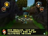 Disney's Donald Duck: Goin' Quackers Nintendo 64 Gyro giving hints