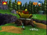 Disney's Donald Duck: Goin' Quackers Nintendo 64 The first boss battle