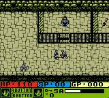 Warriors of Might and Magic Game Boy Color Alleron starts in the cell... Friends set him free during introduction...