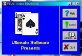 Real Video Blackjack Windows 3.x Beginning Title Screen