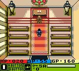 Warriors of Might and Magic Game Boy Color Visiting the Temple...
