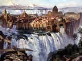 Dinotopia DOS Waterfall city