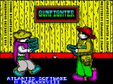 Gunfighter ZX Spectrum Loading screen