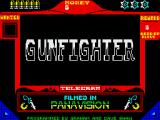 Gunfighter ZX Spectrum Title page