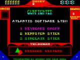 Gunfighter ZX Spectrum Control selection