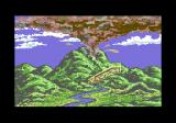 The Transformers: Battle to Save the Earth Commodore 64 A volcanic eruption in the intro